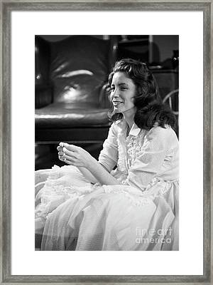 June Carter, 1956 Framed Print by The Harrington Collection