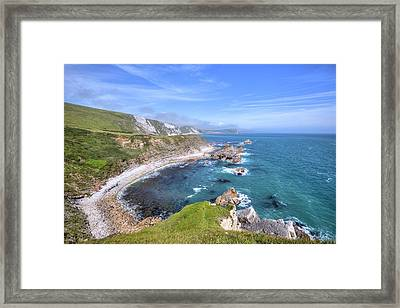 Jurassic Coast - England Framed Print