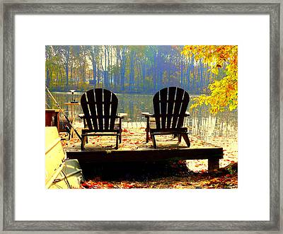 Just For The Two Of Us Framed Print