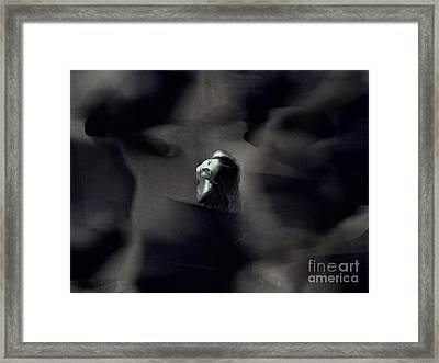 Just For Today I Will Not Be Afraid  Framed Print