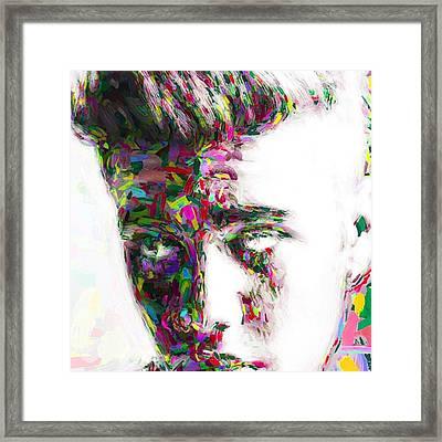 #justinbieber @justinbieber Framed Print