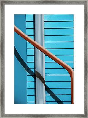 Juxtaposed Framed Print by Paul Wear