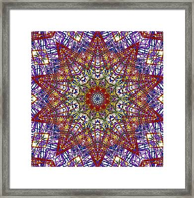 Kaleidoscope 414 Framed Print