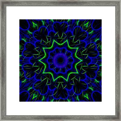 Kaleidoscope 449 Framed Print