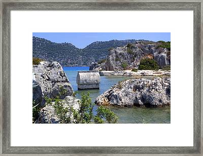 Kalekoey - Turkey Framed Print by Joana Kruse