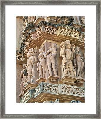 Kama Sutra Temple Framed Print by Dorota Nowak