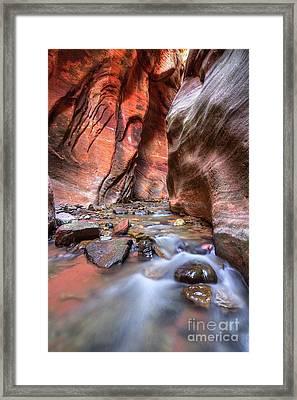 Framed Print featuring the photograph Kannara Creek by Spencer Baugh
