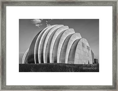 Kauffman Center Framed Print by Dennis Hedberg