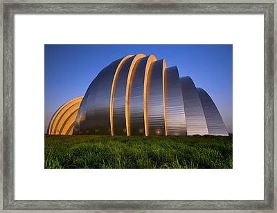 Kauffman Center Framed Print by Ryan Heffron