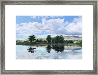 Kelly Hall Tarn - Lake District Framed Print by Joana Kruse