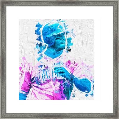 #kengriffeyjr #baseball #springtraining Framed Print