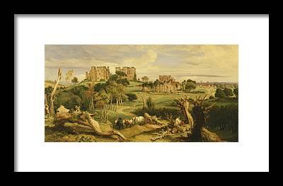 Kenilworth Castle Framed Prints