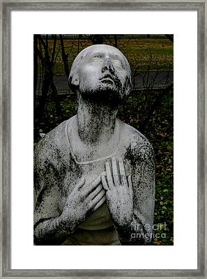 Kerepesi Cemetery, Budapest Framed Print by Vladi Alon