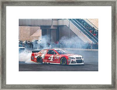 Kevin Harvick  Framed Print by James Marvin Phelps