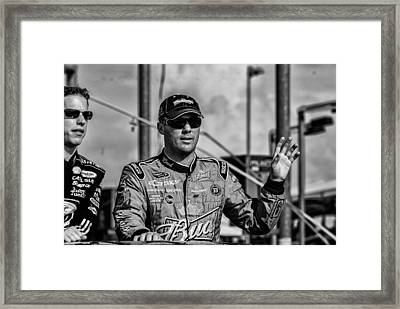 Kevin Harvick Framed Print by Kevin Cable