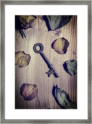 key Framed Print