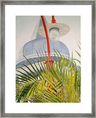 Key West Turret Framed Print by John Schuller