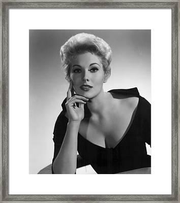 Kim Novak,1956 Framed Print by Everett