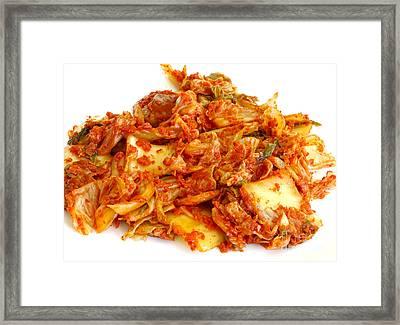 Kimchi Framed Print