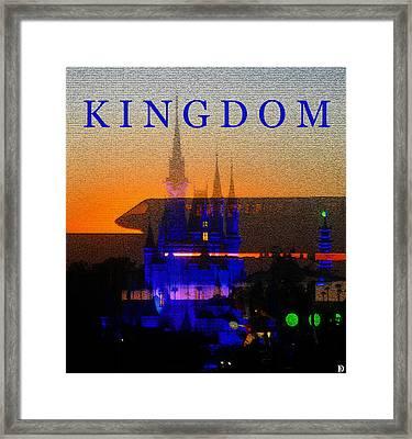 Framed Print featuring the digital art Kingdom by David Lee Thompson