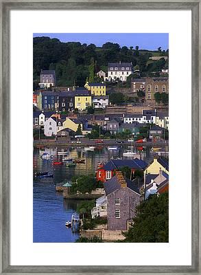 Kinsale, Co Cork, Ireland Boats And Framed Print