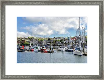 Kinsale Harbor  Framed Print