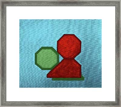 Kiss Framed Print by Viktor Savchenko