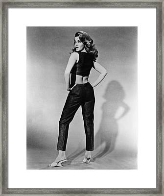 Kitten With A Whip, Ann-margret, 1964 Framed Print by Everett