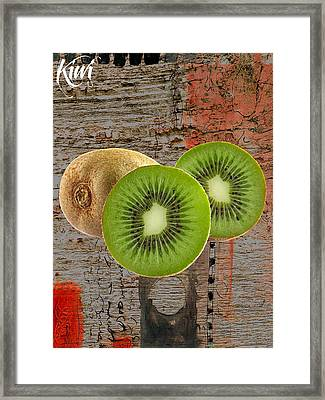 Kiwi Collection Framed Print