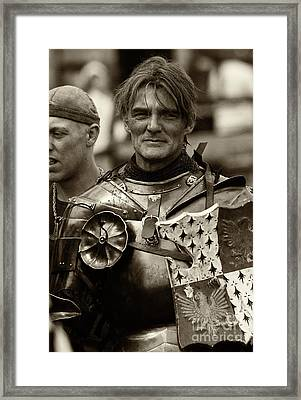 Knights Of Old 10 Framed Print by Bob Christopher