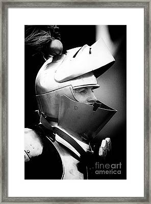 Knights Of Old 11 Framed Print by Bob Christopher