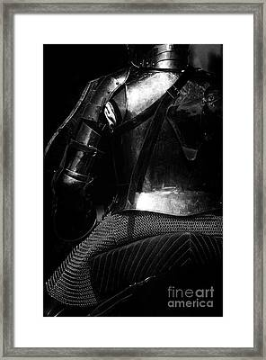 Knights Of Old 15 Framed Print by Bob Christopher