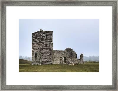 Knowlton Church - England Framed Print