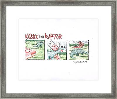 Kobbs The Raptor Framed Print