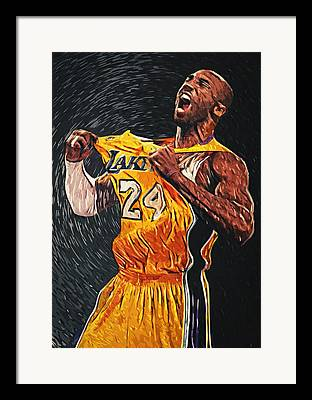 Black Mamba Framed Prints