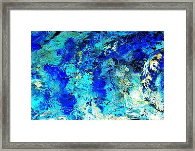 Koi Abstract Framed Print
