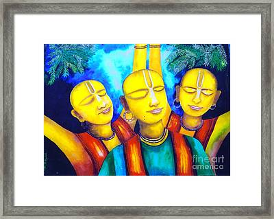 Krishna Conciousness Framed Print by Pkr