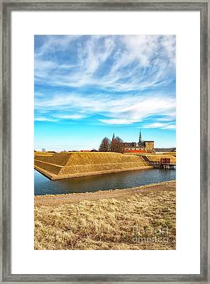 Framed Print featuring the photograph Kronborg Castle In Helsingor by Antony McAulay