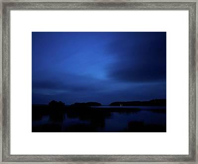 Kulovesi Night Framed Print