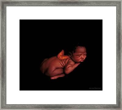 Kwasi Framed Print