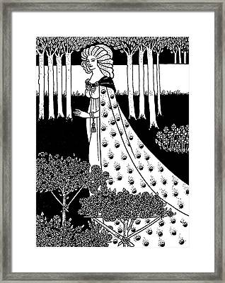 La Beale Isoud At Joyous Gard Framed Print