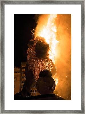La Crema Fallas 2015 Framed Print