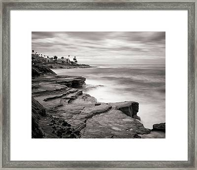 La Jolla Cliffs Framed Print