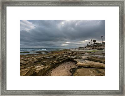 La Jolla Morning Framed Print by Joseph Smith