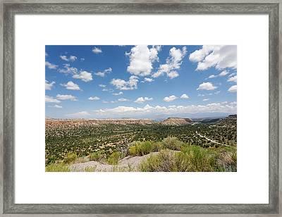 La Strada Framed Print