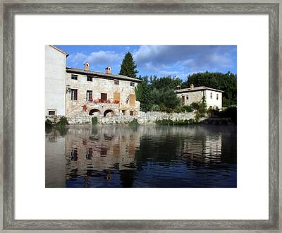 La Terme Framed Print by Pat Purdy