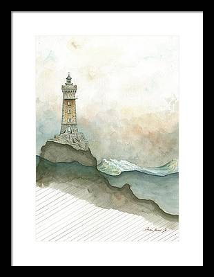 Lighthouse Art Framed Prints