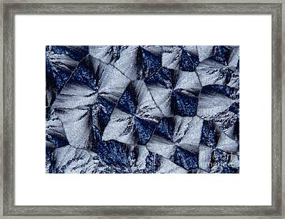 Lactose Monohydrate, Polarized Lm Framed Print