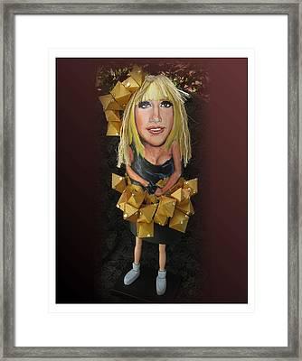 Lady Buoy Framed Print by Cathi Doherty