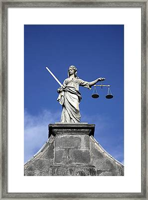 Lady Justice Framed Print by Joe Burns